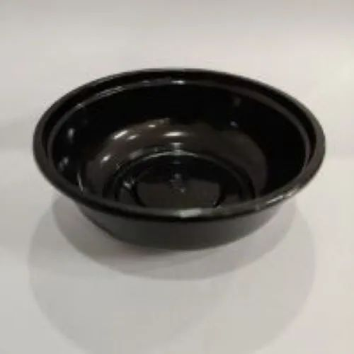 Bowl Only Oracle, 140-750ml Round, Black Without Lid, Pack of 1000