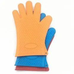 Microfiber Plain Oven Gloves
