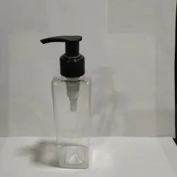 200 ML Square PET Bottle with Soap Dispenser (Lilly Head)