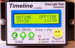 Astronomical And Presettable Street Light Timer