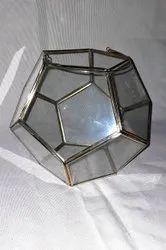 7 Inch Decoration Round Glass Vase