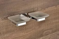 Brass Double Soap Dish