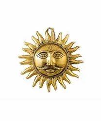 Lord Wall Hanging Sun Surya Face Idol