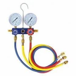 Value Manifold Gauge Set 3 In 1 For R22, 134,410, Model Name/Number: VMG-2-R410A-B-02