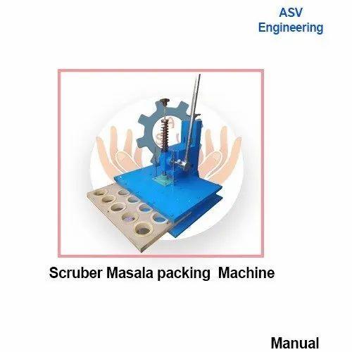Scruber & Masala packing machine