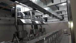 Kitchen Fume Extraction/ Ventilation System