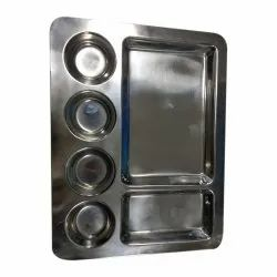 6 Compartment Plate