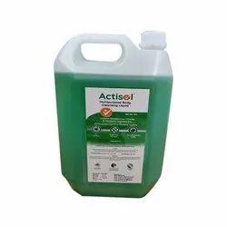 5 L Actisol Multipurpose Body Cleansing Disinfection Liquid