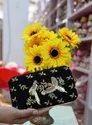 Handicrafts Party Wear Clutch For Women