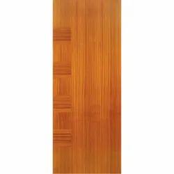 Elegant 72 to 96 Inch Decorative Veneered Door, For Home