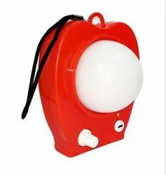 Plastic Cool White Rechargeable LED Light With 4400 mAh Battery, Battery Type: Lithium Ion