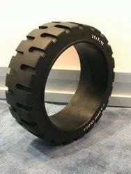 10 X 4 X 6 1/4 Press On Band Forklift Tire