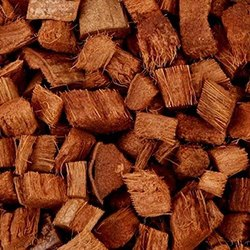 棕色椰子皮薯片