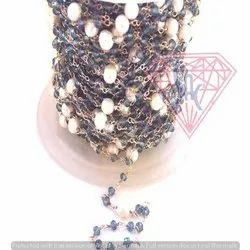 Pearl Rosary Beaded Chain