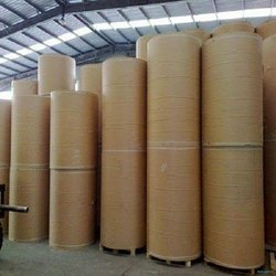 Brown Duplex Paper Roll, GSM: 100, Size: 16 Bf