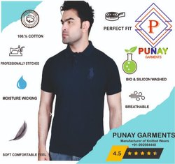 Punay Cotton Matty Collar T-Shirt