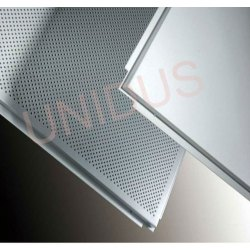 0.45 mm Tegular Metal Perforated Ceiling Tiles