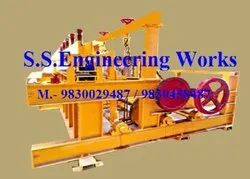 crimped wire mesh weaving machine