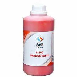 Orange 13 Pigment Paste For Textile