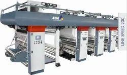 Six Colour Rotogravure Printing Machine