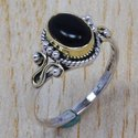 Handmade 925 Sterling Silver Ring Rainbow Moonstone Ring SJWR-253