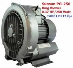 Grand Pg-250 Sunsun Ring Blower Pond Aeration Aquarium Air Pump