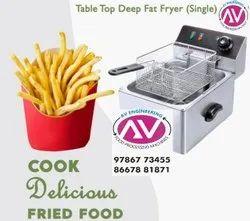 Electic Digital Deep Fryer 8Ltr Single
