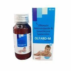 Ofloxacin Metronidazole Simethicone Syrup