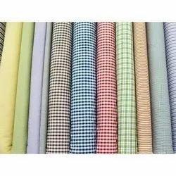 Raymond Cotton Fabric, Check/stripes, Multicolour