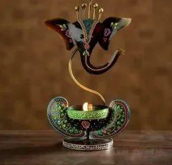 Isha Art Multicolor Ti Light Metal Ganesh