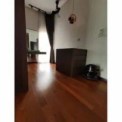 Teak Wood Solid Wooden Flooring, Surface Finish: Matte, Thickness: 20 Mm