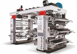 Chorme Anilox Roll Flexographic Printing Machine