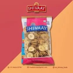 Salty 200 Gm Shivaay Banana Chips, Refined Oil, Packaging Type: Packet