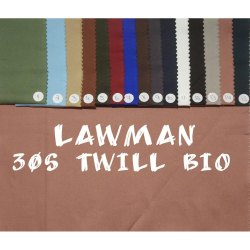 Lawman Twill Mens Shirt Fabric