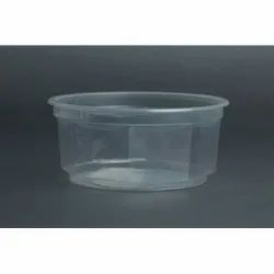 400 Ml Round Plastic Container