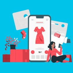 E Commerce Development Service, With Chat Support