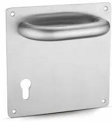 Broad Stainless Steel Plate Horizontal Lever Door Handle AHM-04-P