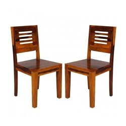 Brown Wooden Dining Chair, For Hotel and Restaurant