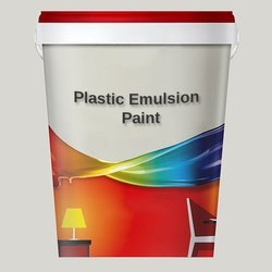 Soft Sheen Plastic Emulsion Paint, For Home, Packaging Size: 1L, 2.5L