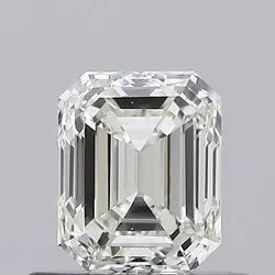 0.60ct Emerald k VVS2 GIA Certified Natural Diamond