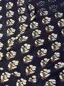 Jaipur Kurti Navy Blue Printed Flared Dress
