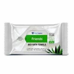 Friends Bed Bath Towels (300mm x 240mm) - 10 PCS Wet Towels
