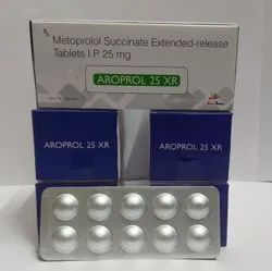 Metoprolol SUCCINATE XR 25mg Tablet