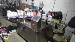 Automatic Self Adhesive Two sides Flat Bottle Labeling Machine