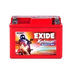 Capacity: 3 Ah XLTZ4 Exide Xplore Motorcycle Vrla Battery