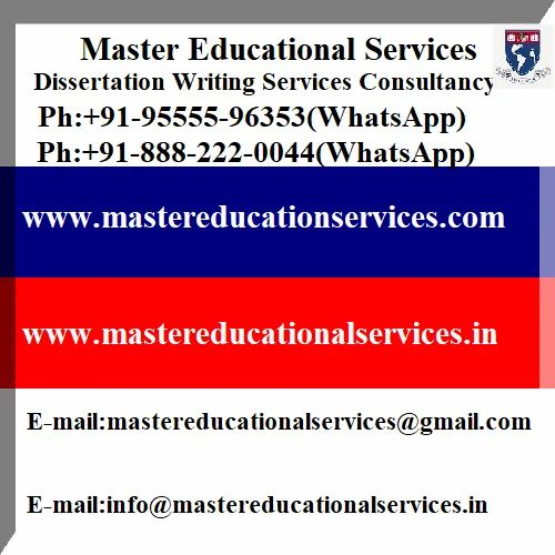 Best dissertation writing services canada