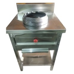 SS Single Gas Burner, For Commercial, Size: 20 X 20 Inches