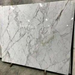 Kishangarh Polished,Unpolished Bianco Carrara White Italian Marble, Slab, Thickness: 18 mm
