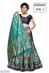 New Designer Banarasi Heavy Lehenga