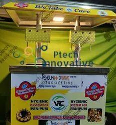 6 Nozzle Table Top Pani Puri Filling Machine